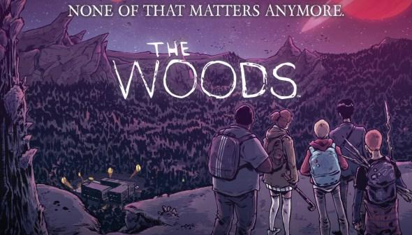 The woods, uno de los cómics editados por Medusa.