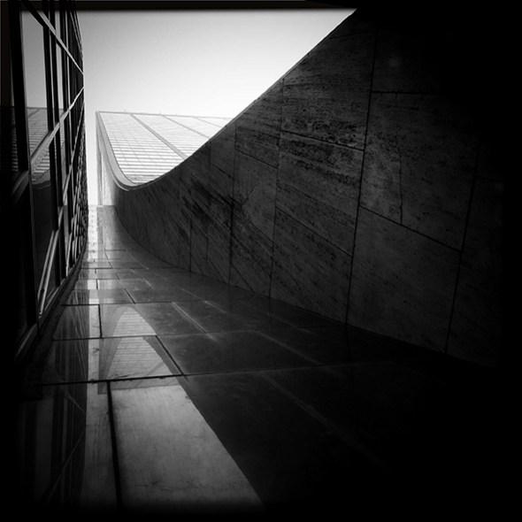 Skateboard park's alley. New York City, 2014  Foto: Sergio de Luz.
