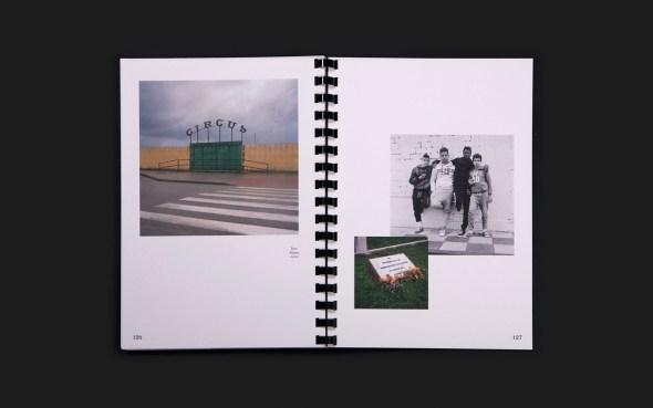 Fotolibro de Juan Valbuena editado por La Kursala. Foto: Tres Tipos Gráficos.