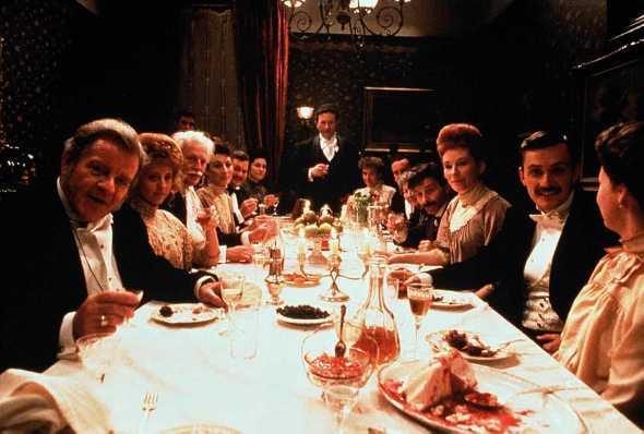 Fotograma de 'Dublineses' de John Huston.