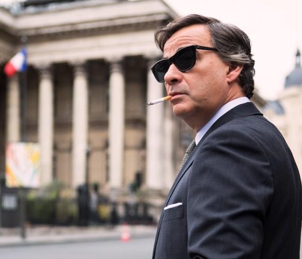 El actor Eduard Fernández en una escena de 'El hombre de las mil caras' de Alberto Rodríguez.