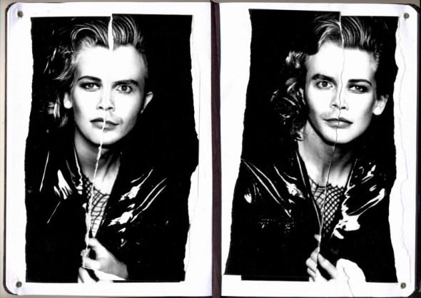 """""""Una mitad no tiene sentido sin la otra. Ladrones de imágenes como Bonnie & Clyde""""."""
