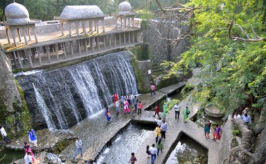 The rock garden de Chandigrah.