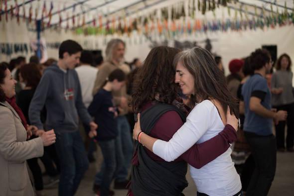 Una imagen tomada en la pasada edición del Festival Folkarria.