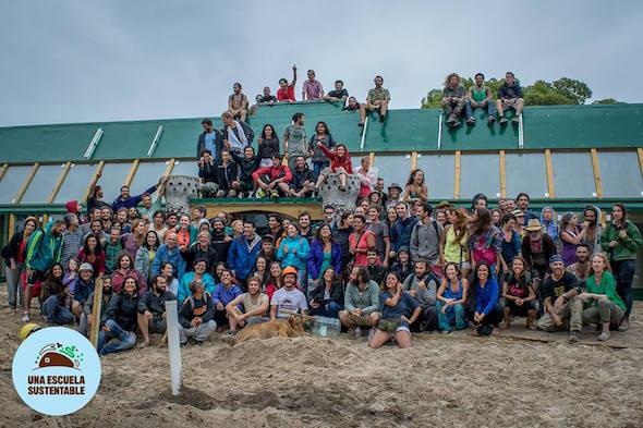 Escuela sustentable de Uruguay.