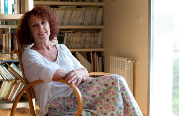 La escritora Lola López Mondéjar. Foto: Pepa González.