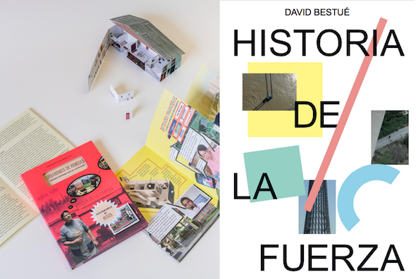 Portadas de los libros e 'Historia de la Fuerza' editados por Caniche.