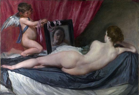 La Venus del Espejo de Velázquez.