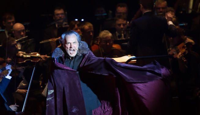 José Coronado durante la representación de Iván el Terrible. Foto: Gabriel Fuselli.