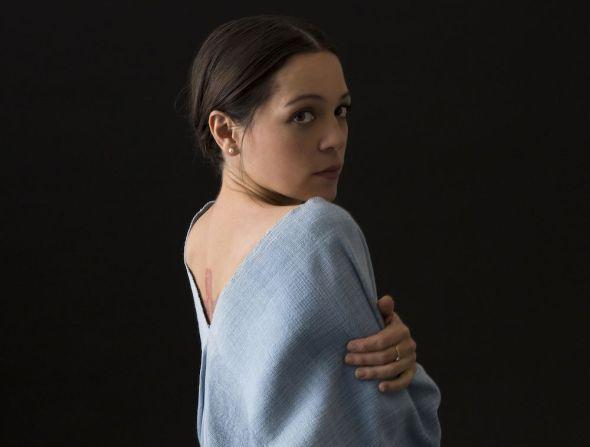 La cantante, instrumentista y compositora mexicana Natalia Lafourcade.