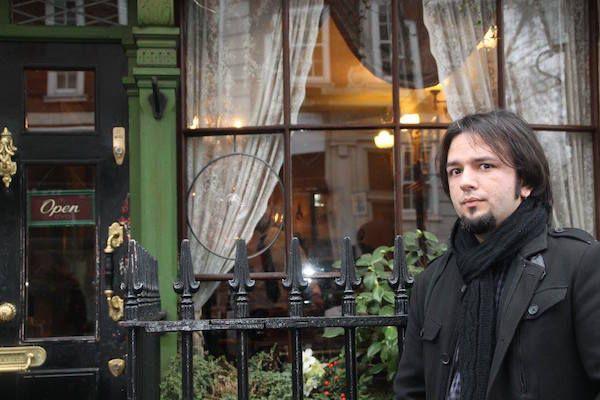 El escritor David Aliaga.