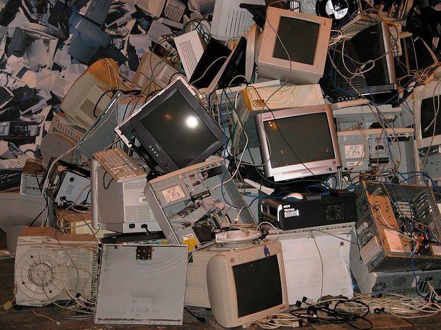 Centro de reciclaje de ordenadores. Foto: Pixabay.