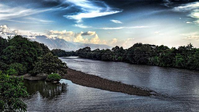 El río Magdalena en Colombia. Foto: Flickr Creative Commons / Joz3.69.