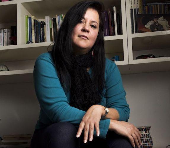 La escritora Laura Ponce.