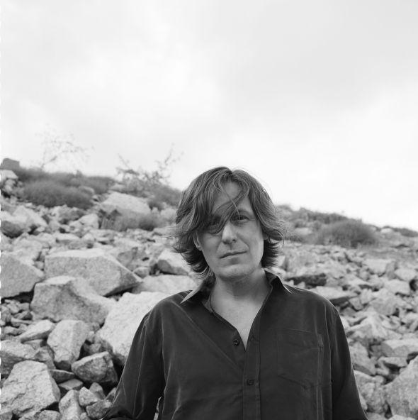 El músico Nacho Vegas. Foto: Pablo Zamora.