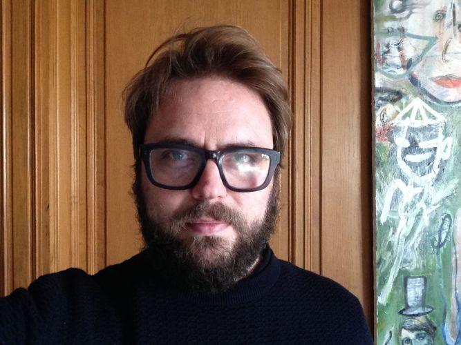 El pintor y cineasta Raúl Herrera.