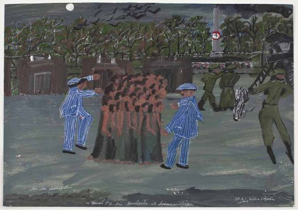 '¡Vamos, vamos, no paréis!. Por entonces 1943-44. Auschwitz no es mentira. Ceija Stojka.