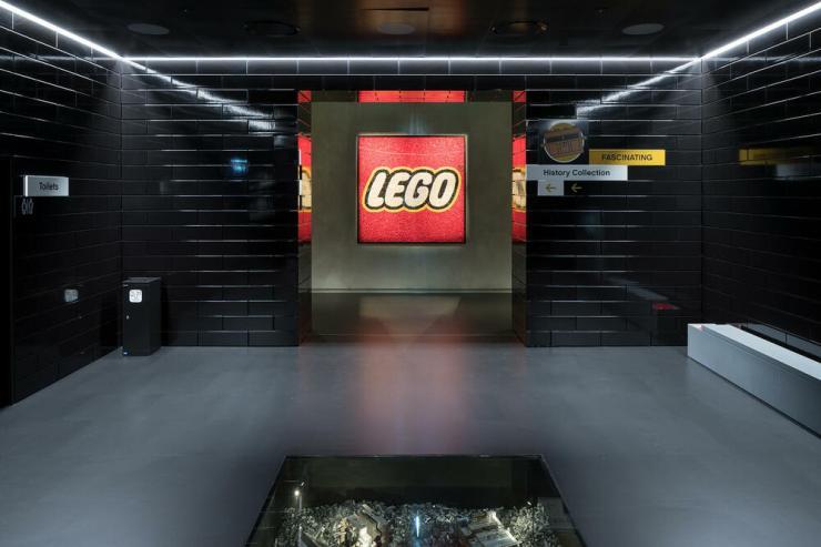 Lego House. Casa Lego foto museo