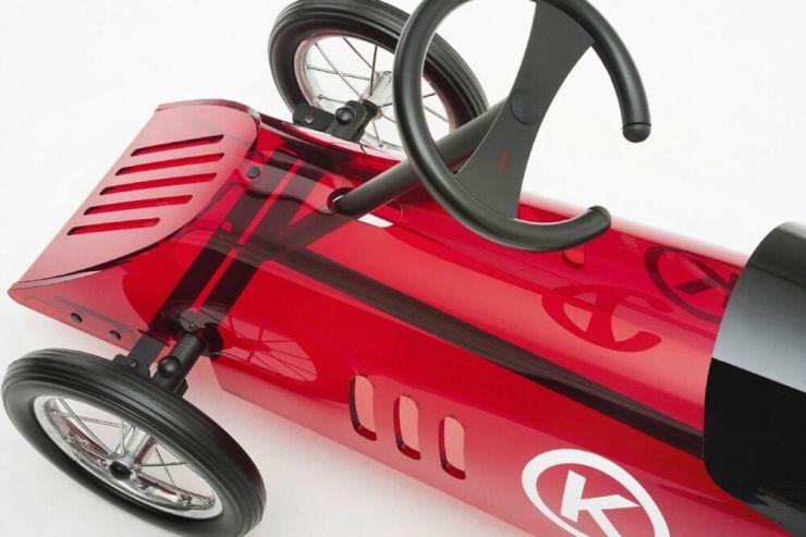 Discovolante coche de juguete rojo Kartel Kids Piero Lissoni