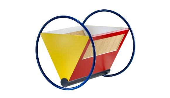 Cuna Bauhaus Cradle. Peter Keler. Diseño para niños