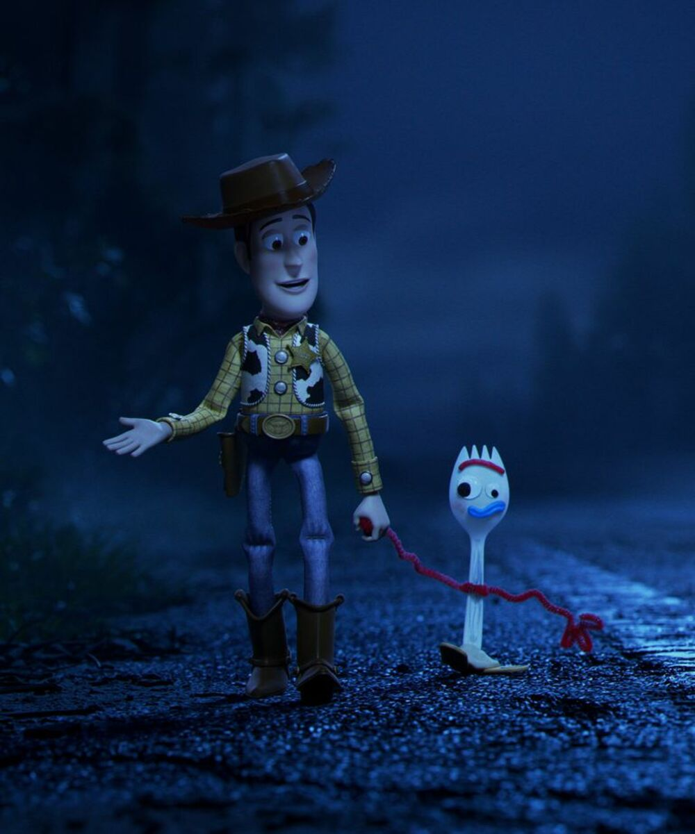 Woody y Forky Toy Story 4