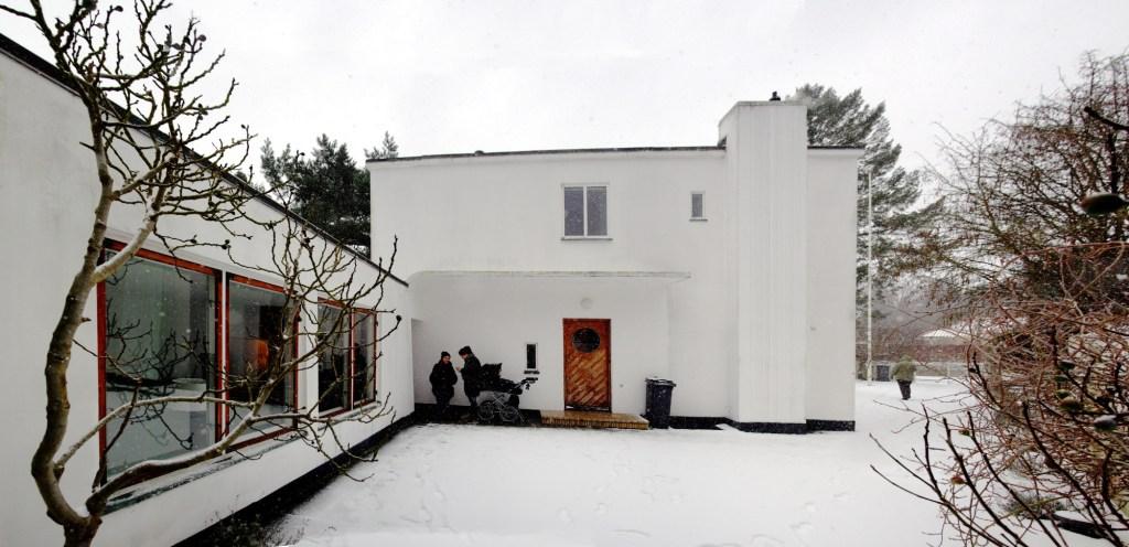 Casa original de Arne Jacobsen en Charlottenlund, 1929