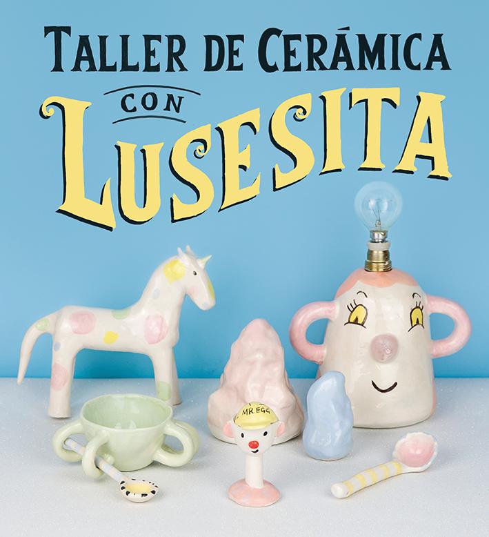 Libros infantiles. Taller de cerámica con Lusesita. Editorial Gustavo Gili. Elástica Magazine
