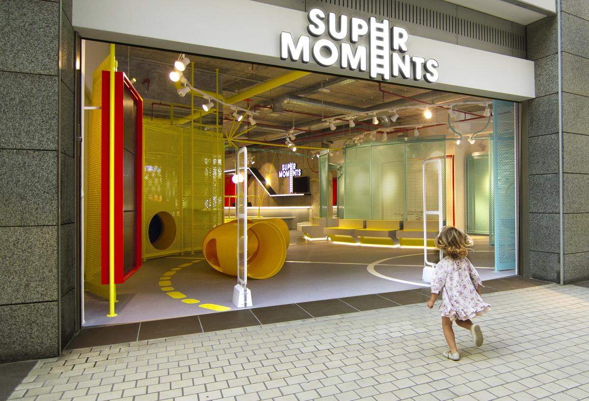 Tienda SuperMoments en Aqua Multiespacio