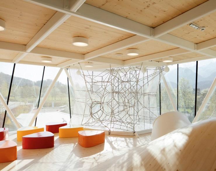Snohetta Playtower Playground Swarovski Kristallwelten Austria