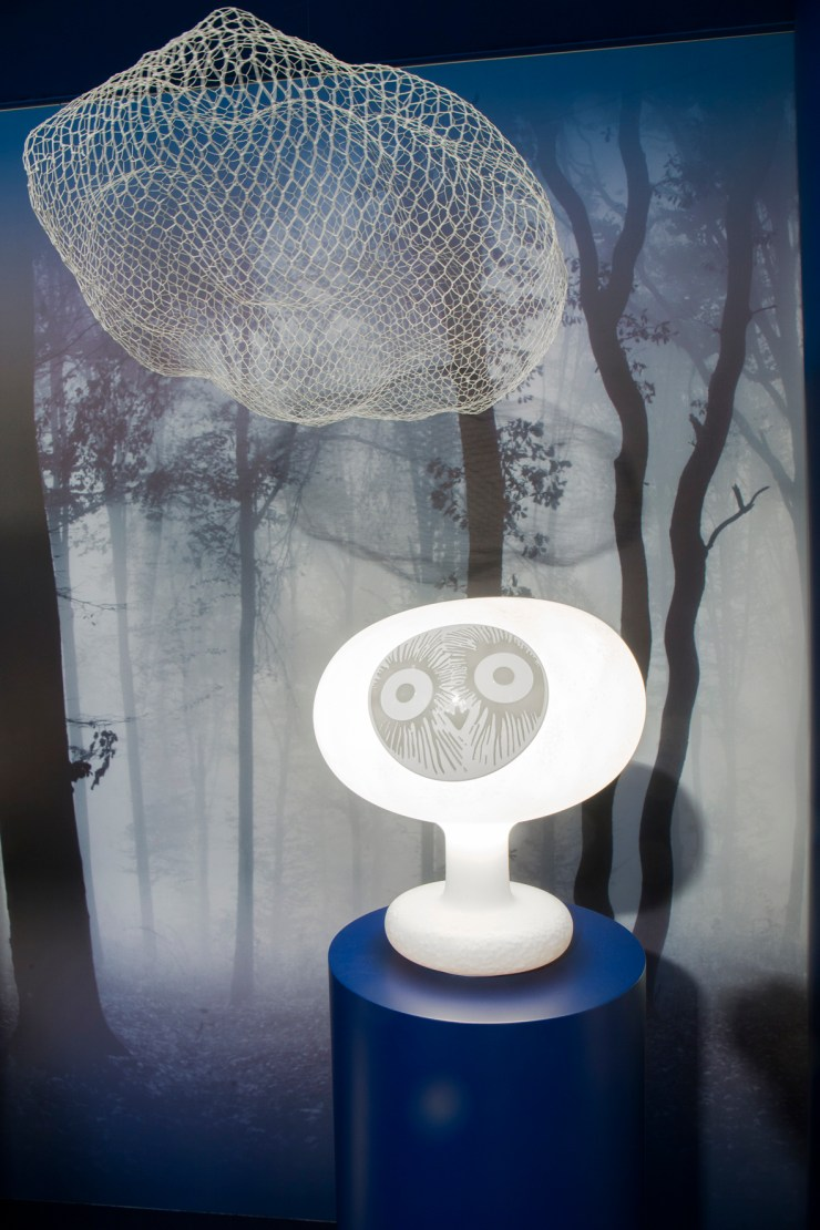 Lámparas quitamiedos sin cable, de diseño. Magis. Pájaros Oiva Toikka