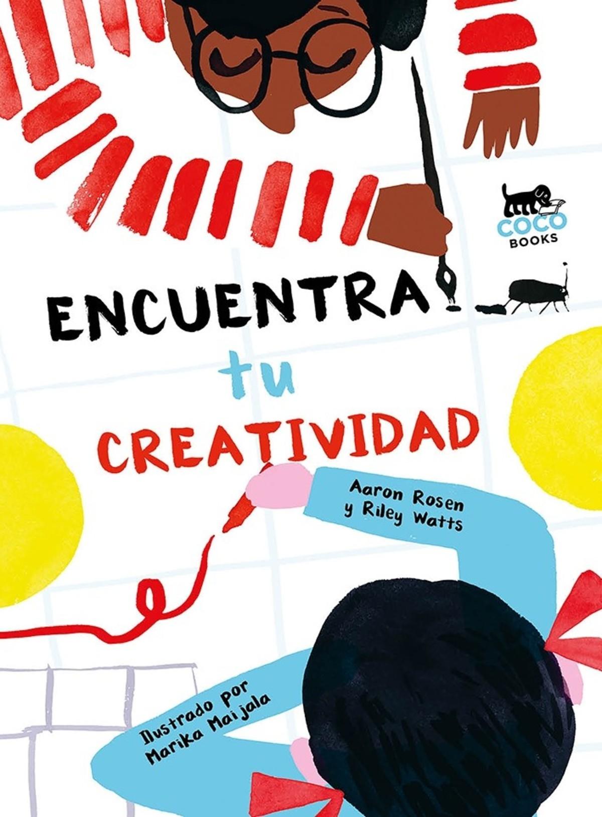 Coco Books. Portada libro encuentra tu creatividad. Design Market Barcelona 2019