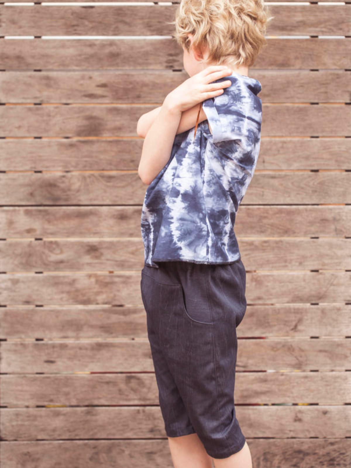 Pez Punto. Camiseta teñida para niños. Design Market Barcelona 2019
