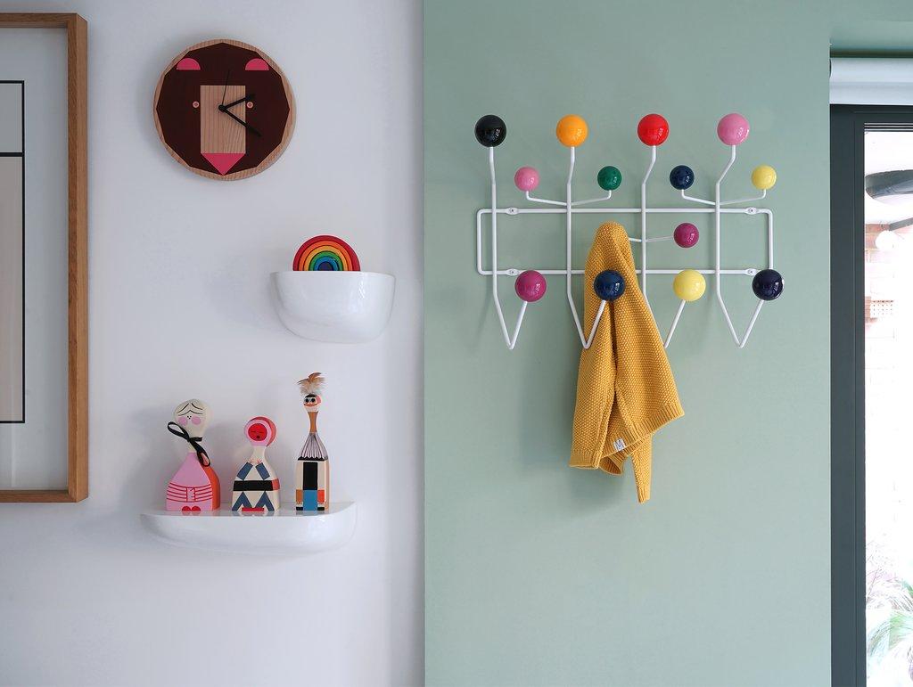hang it all. Perchero colgador bolas de colores Vitra. Ray and Charlem Eames.