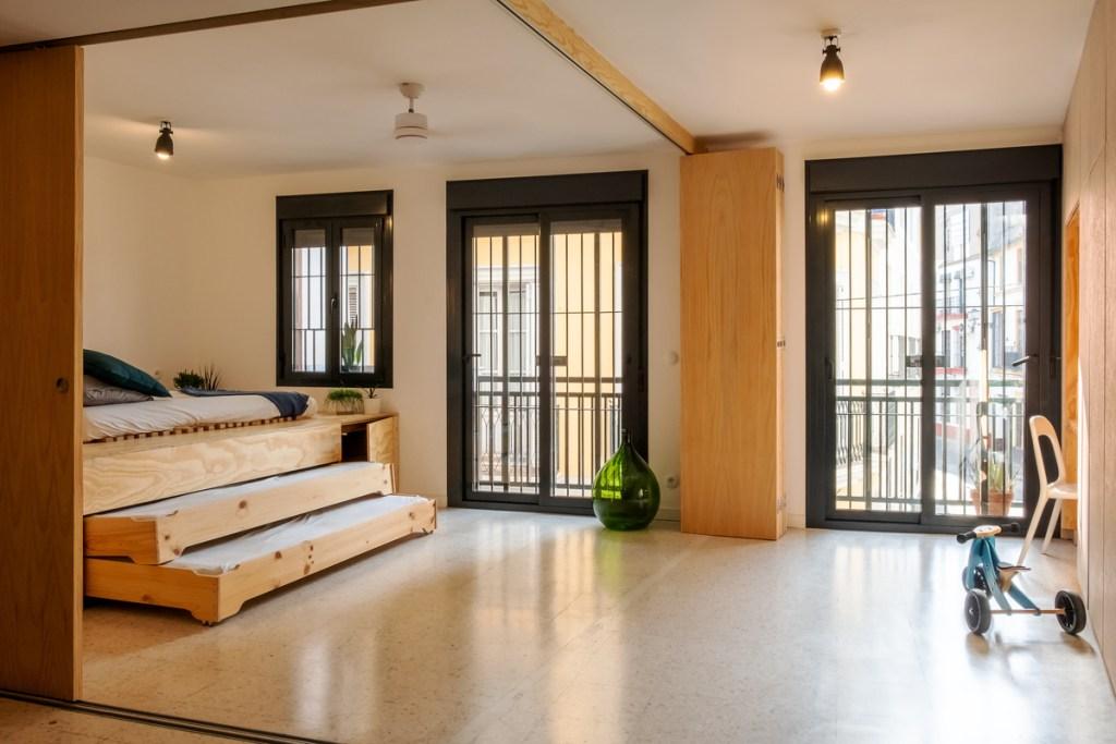 HOMEPING. Gyra Architects. Casa flexible