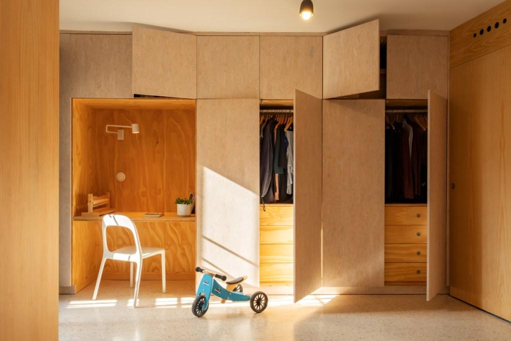 HOMEPING. Gyra Architects. Armarios