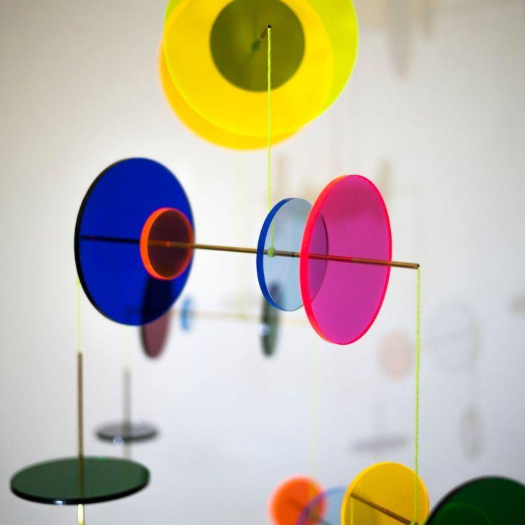 Móvil Decorativo de Diseño. Jordi Canudas. Metacrilato
