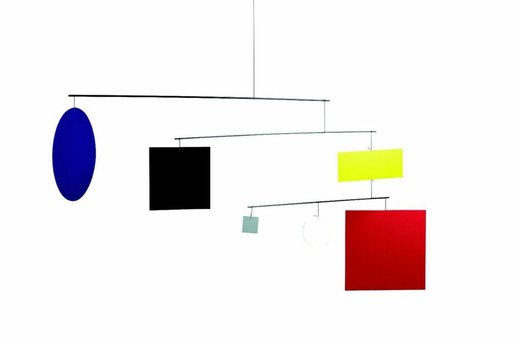 Móvil Decorativo de Diseño. Flensted Mobiles. Bauhaus