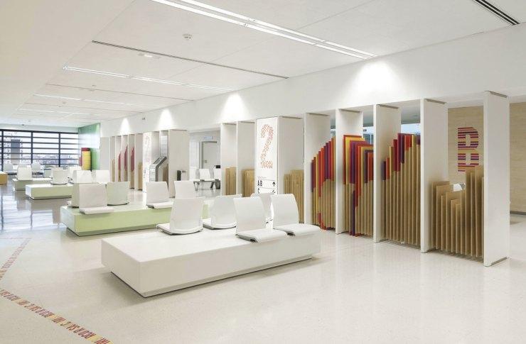 Rai Pinto. Ambientación y diseño interior Hospital Sant Joan de Déu. L'amagatall dels animals.