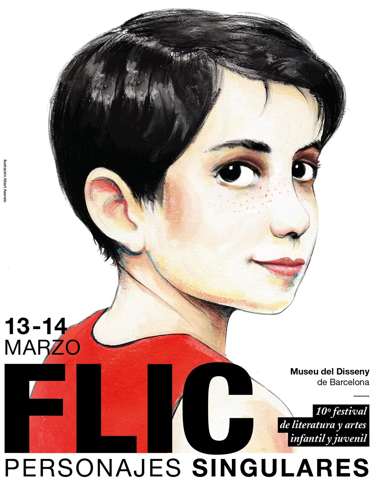 Flic Festival Barcelona. Cartel Albert Asensio 2020