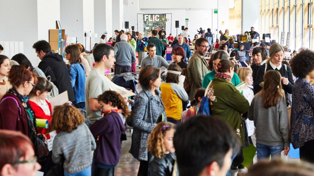 Flic Festival Barcelona. Planes con niños. Feria literaria