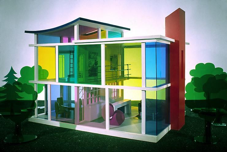 Kaleidoscope House. Laurie Simmons y Peter Wheelwright