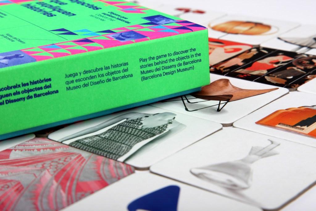 Memory Museo del Diseño. Objetos que explican historias. Juegos de mesa
