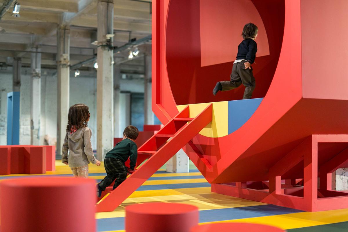 Instalación para niños Aberrant Architecture en Matadero Madrid