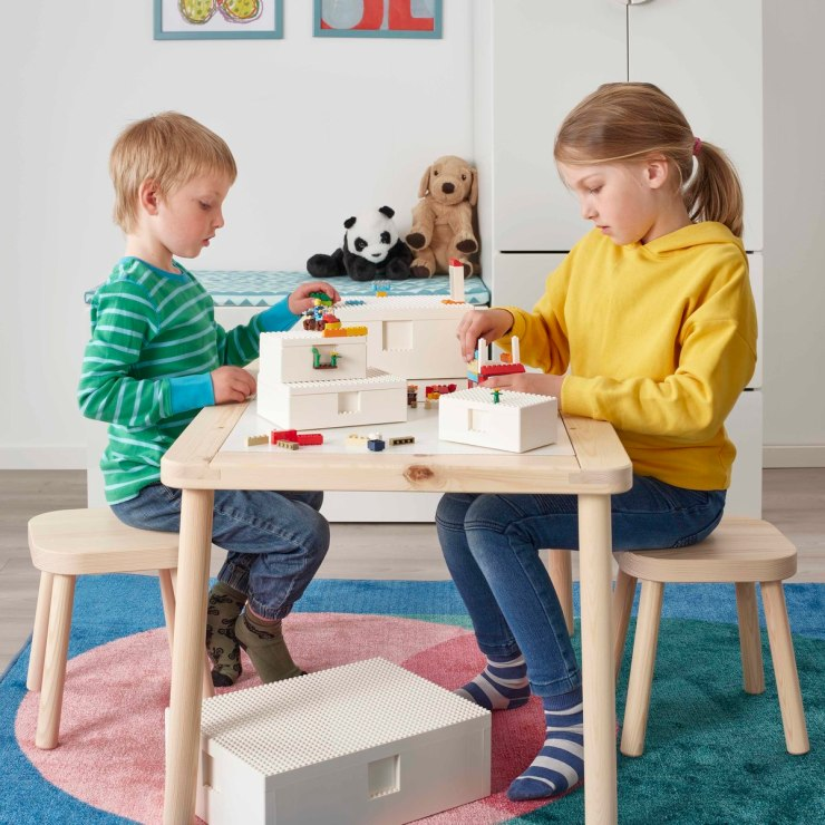 IKEA LEGO cajas BYGGLEK