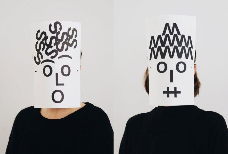 Máscaras Tipográficas de Dídac Ballester