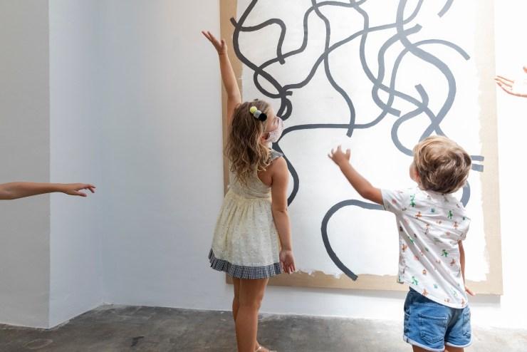 Ruta BGW Familiar arte contemporáneo para niños y niñas