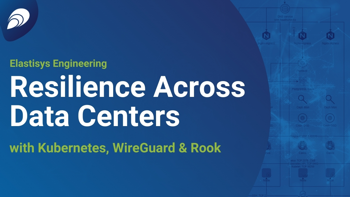 Redundancy across Data Centers with Kubernetes, WireGuard and Rook