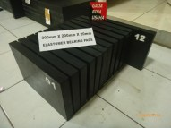 Elastomer Bearing Pad 300 X 200 X 20 mm