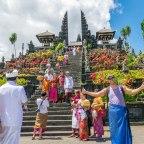 Pura Besakih o templo mãe da ilha de Bali.
