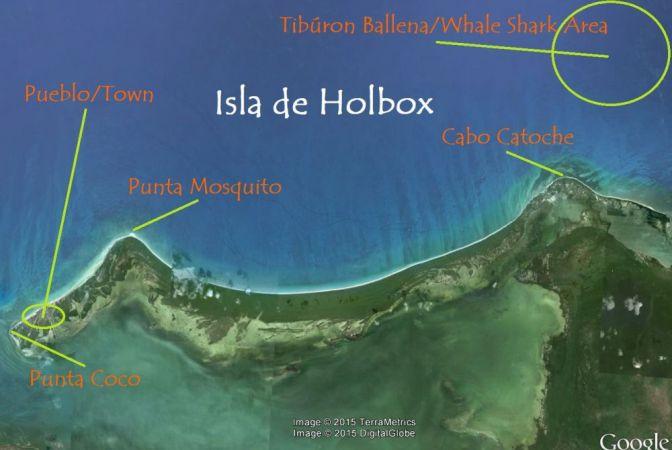 mapa holbox 1